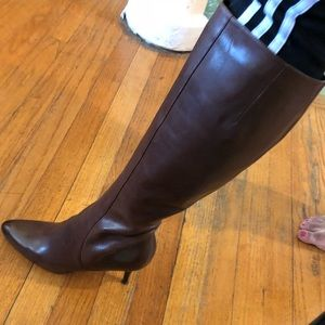 Leather Brown Cole Haan boots